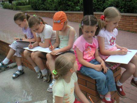 Prezentacja prac plastycznych dzieci