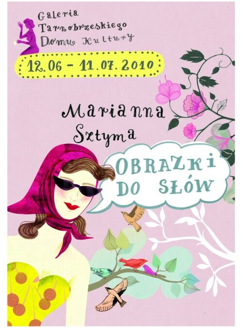 """Marianna Sztyma – """"Obrazki do słów"""""""