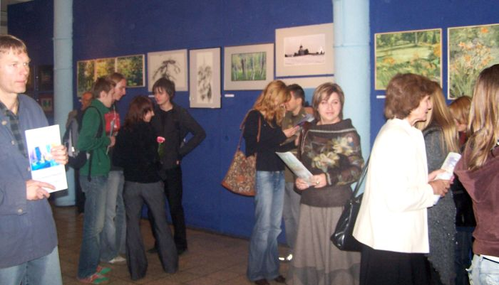 Zaproszenie nawernisaż Plener wArboretum – Bolestraszyce 2006