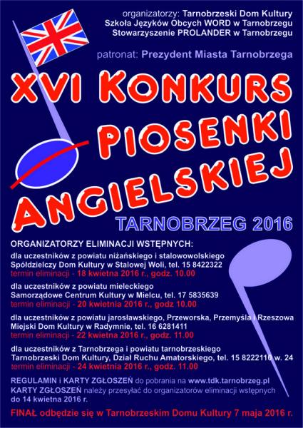 piosenka angiel.pl.2016