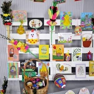 Baranki, pisanki, palmy i kartki (protokół konkursu i zdjęcia)