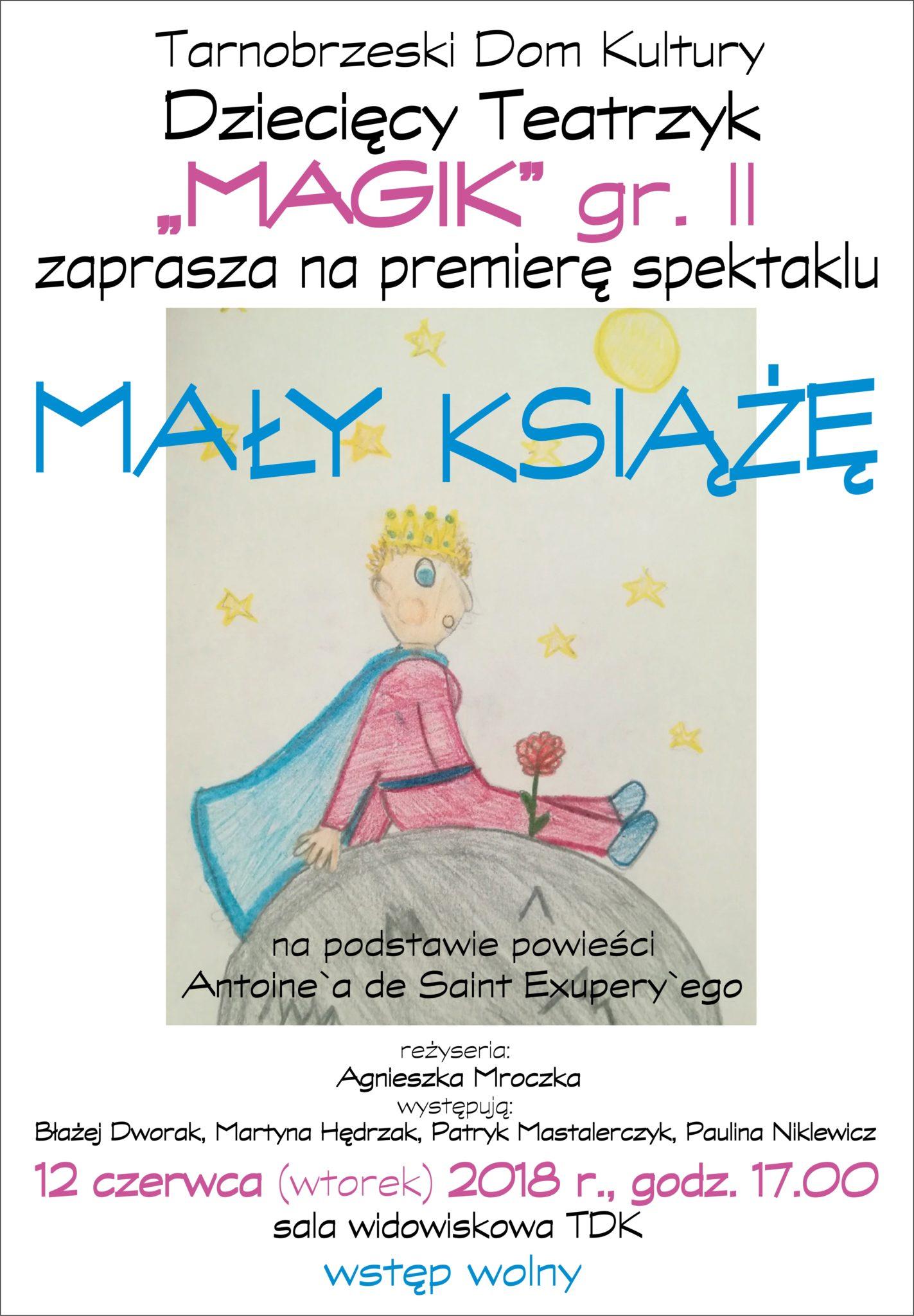 Zapraszamy Na Premiery Spektakli Dzieciecego Teatrzyku Magik