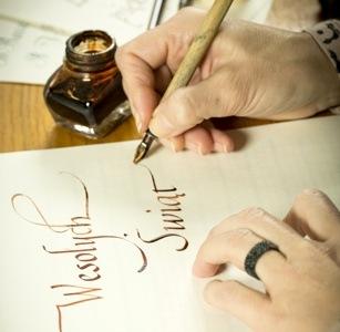 Zapraszamy nawarsztaty kaligrafii