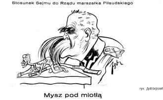 Zapraszamy na wystawę Józef Piłsudski w karykaturze