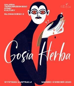 #Zostań w domu!!! – obejrzyj wystawę GOSIA HERBA – ILUSTRACJE