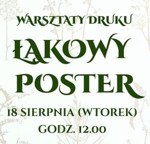 Warsztaty druku z Joanną Kurkiewicz
