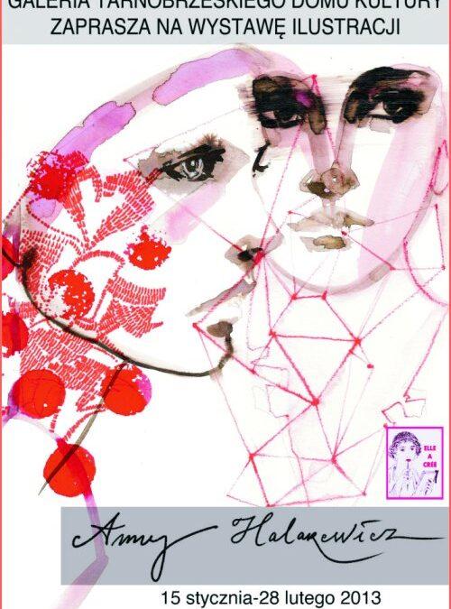 Zaproszenie na wystawę ilustracji Anny Halarewicz