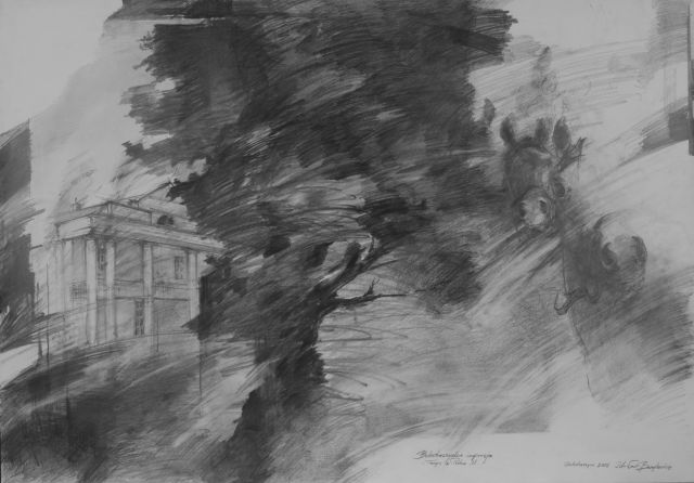 Wystawa poplenerowa z Pleneru w Arboretum w Bolestraszycach