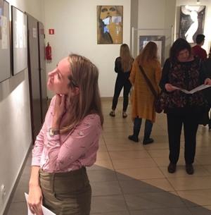 Wernisaż wystawy Marta Konarzewska – rysunki