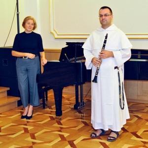 Finał Festiwalu organowego na zamkowym dziedzińcu